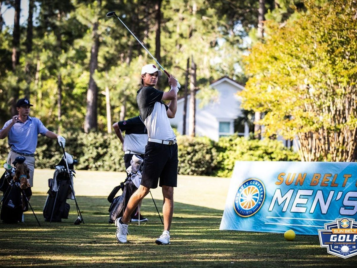 Four Red Wolves on All-Sun Belt Golf Team, Naglic named Freshman of the Year