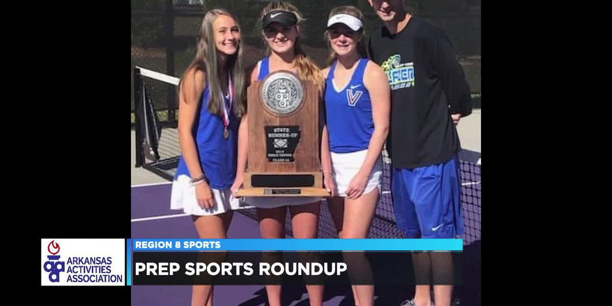More Region 8 schools earn accolades in state tennis and state golf