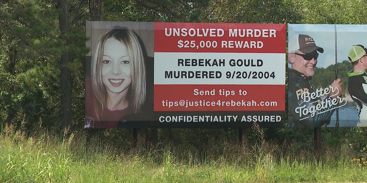 $25,000 reward offered for information in Rebekah Gould murder case