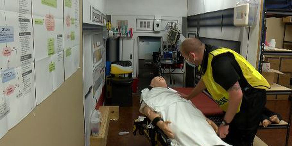 Mass casualty incident training held at Three Rivers College