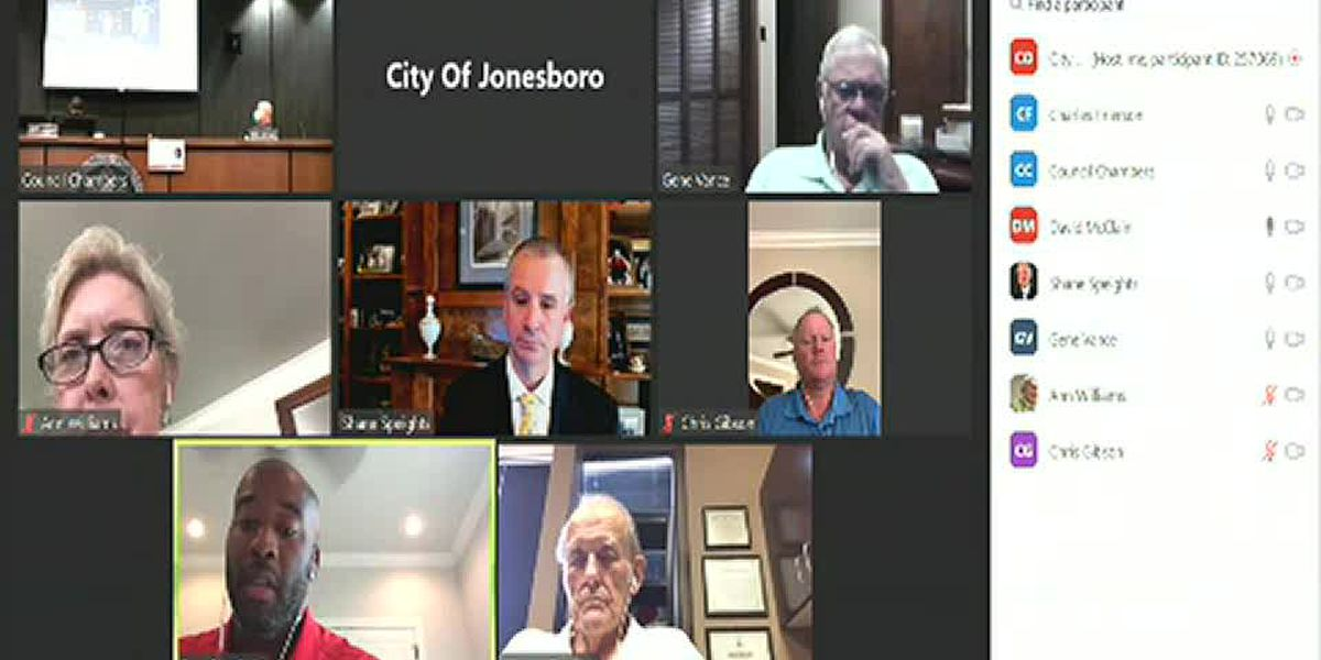 RAW VIDEO: Jonesboro Public Safety Committee forwards 2 mask measures to full council