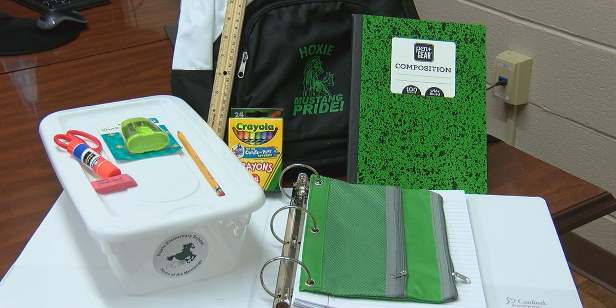 Hoxie School District to provide school supplies; free meals for all students