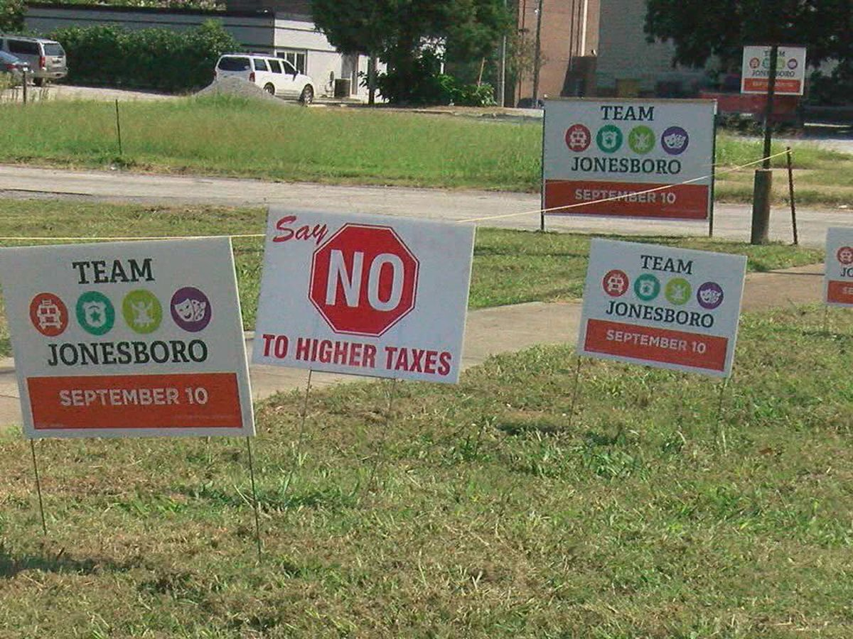 What's next for Team Jonesboro after failed proposed tax