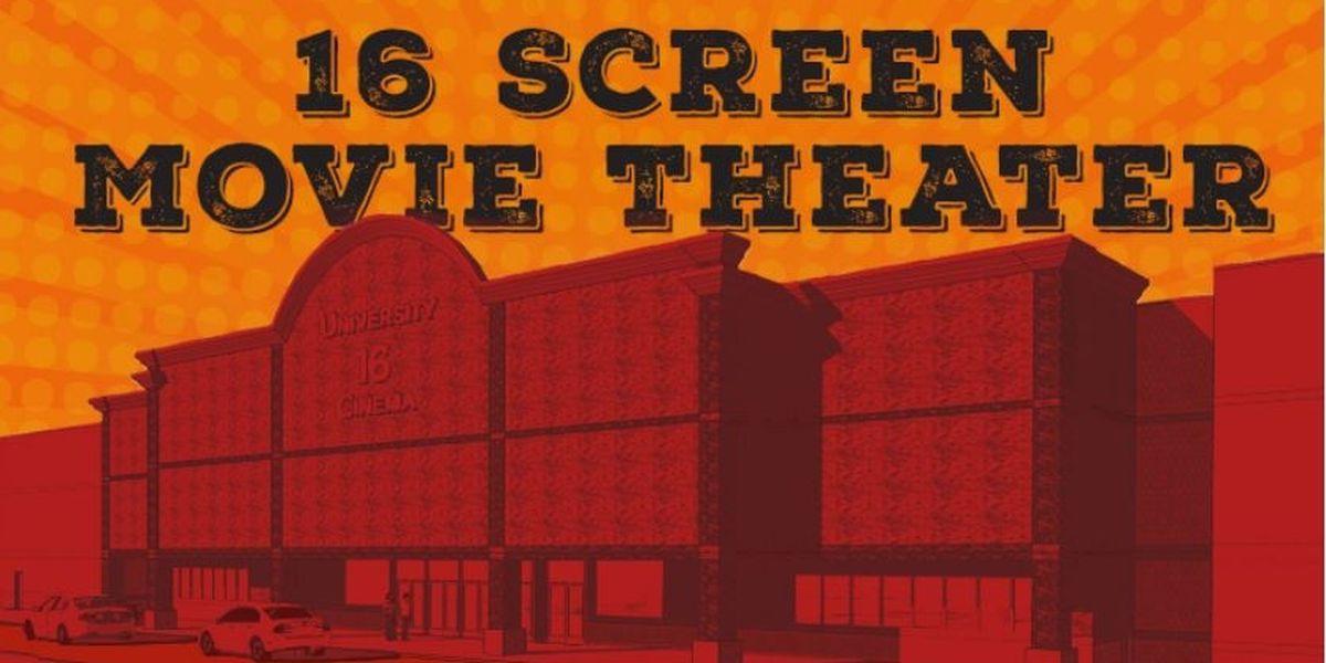 Jonesboro getting new 16-screen cinema