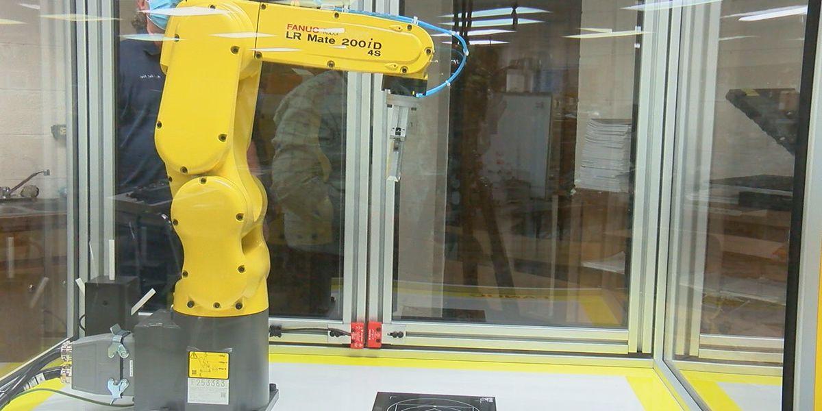 BRTC industrial electricity program receives new equipment to prepare students for workforce
