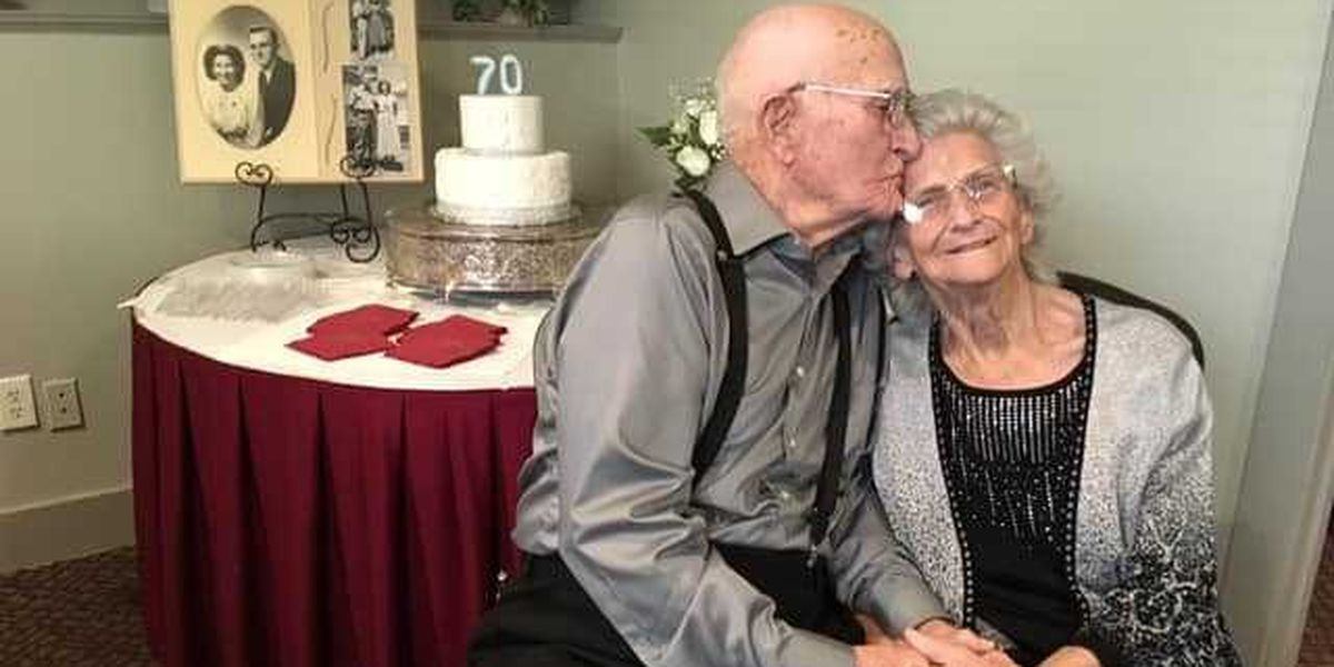 Couple celebrates 70 years together in Cape Girardeau