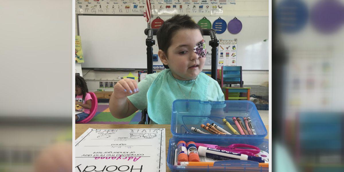 UPDATE: Child injured by falling furniture begins kindergarten