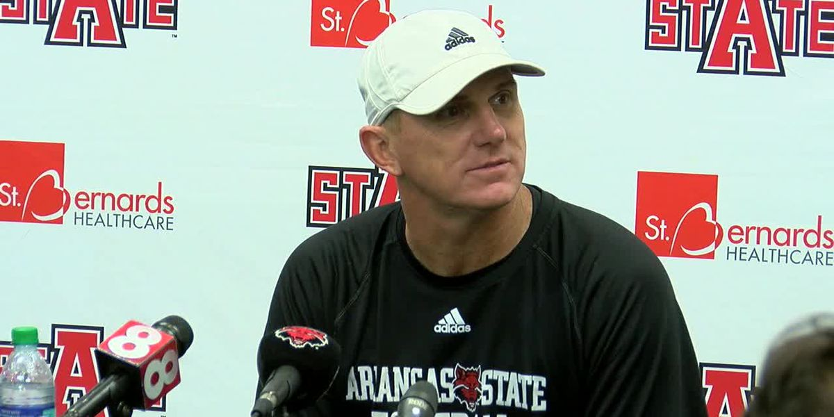 Red Wolves Raw: Blake Anderson reacts to UNLV win
