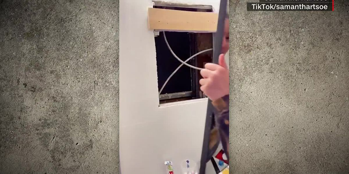 Woman discovers mystery room behind bathroom mirror in her NYC apartment