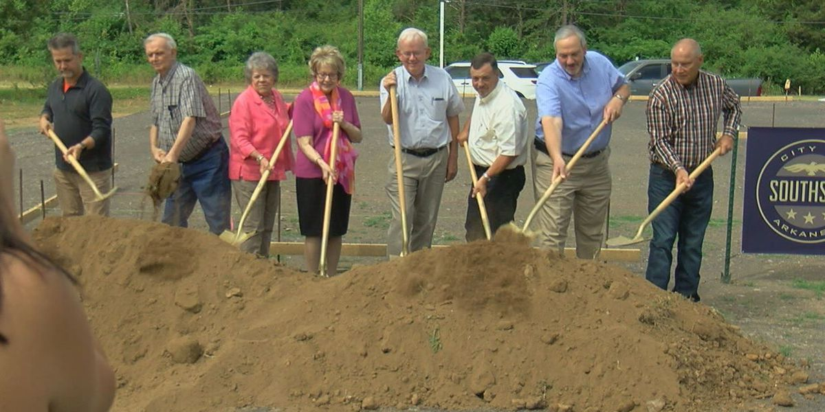 Arkansas's newest town breaks ground for city hall