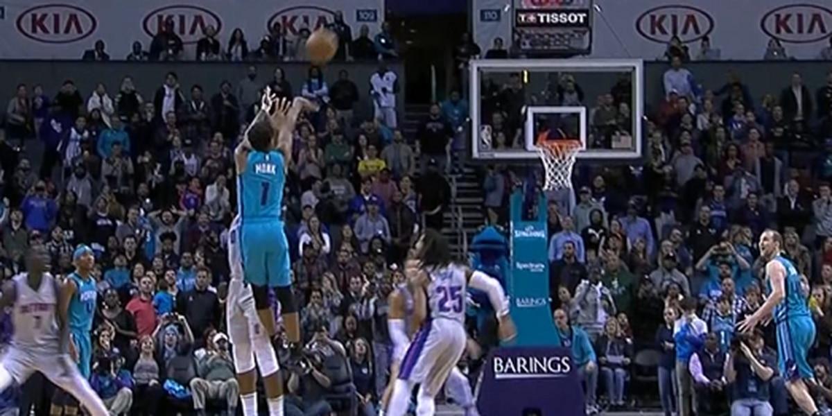 Malik Monk hits buzzer beater as Hornets beat Pistons