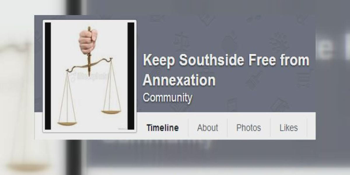 Southside group rallies against annexation
