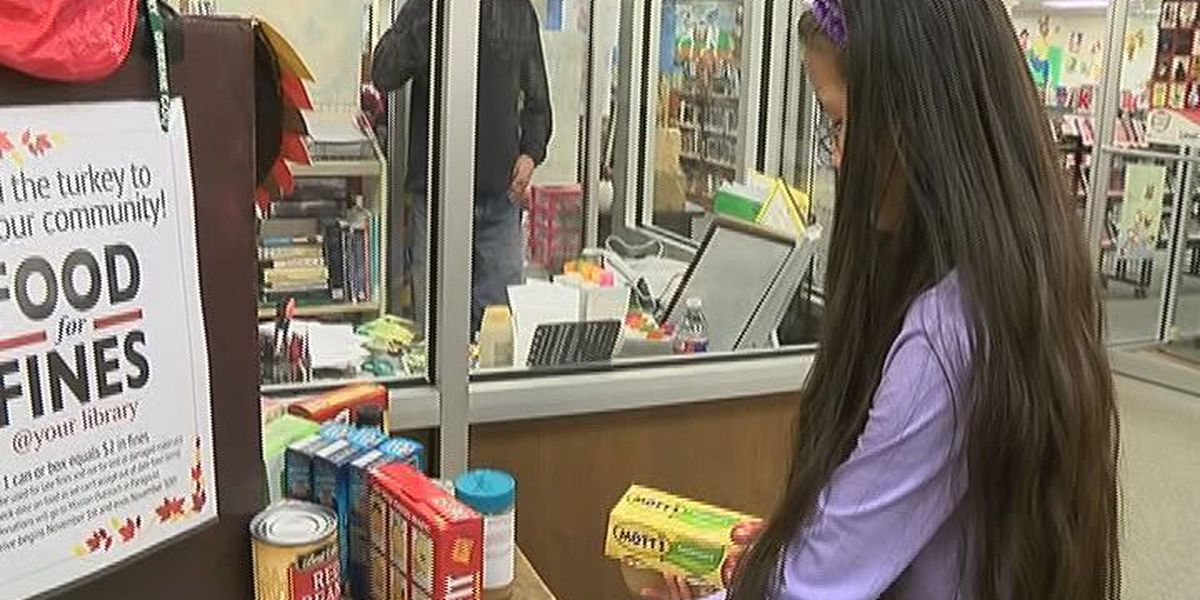Greene County Public Library hosts 'Food for Fines'