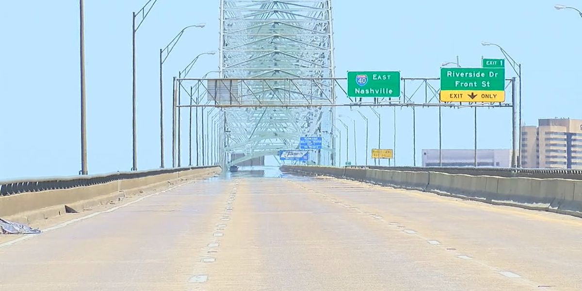West Memphis facing traffic problems during bridge shutdown