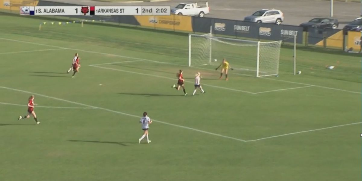 A-State soccer comes up short in Sun Belt Tournament title game