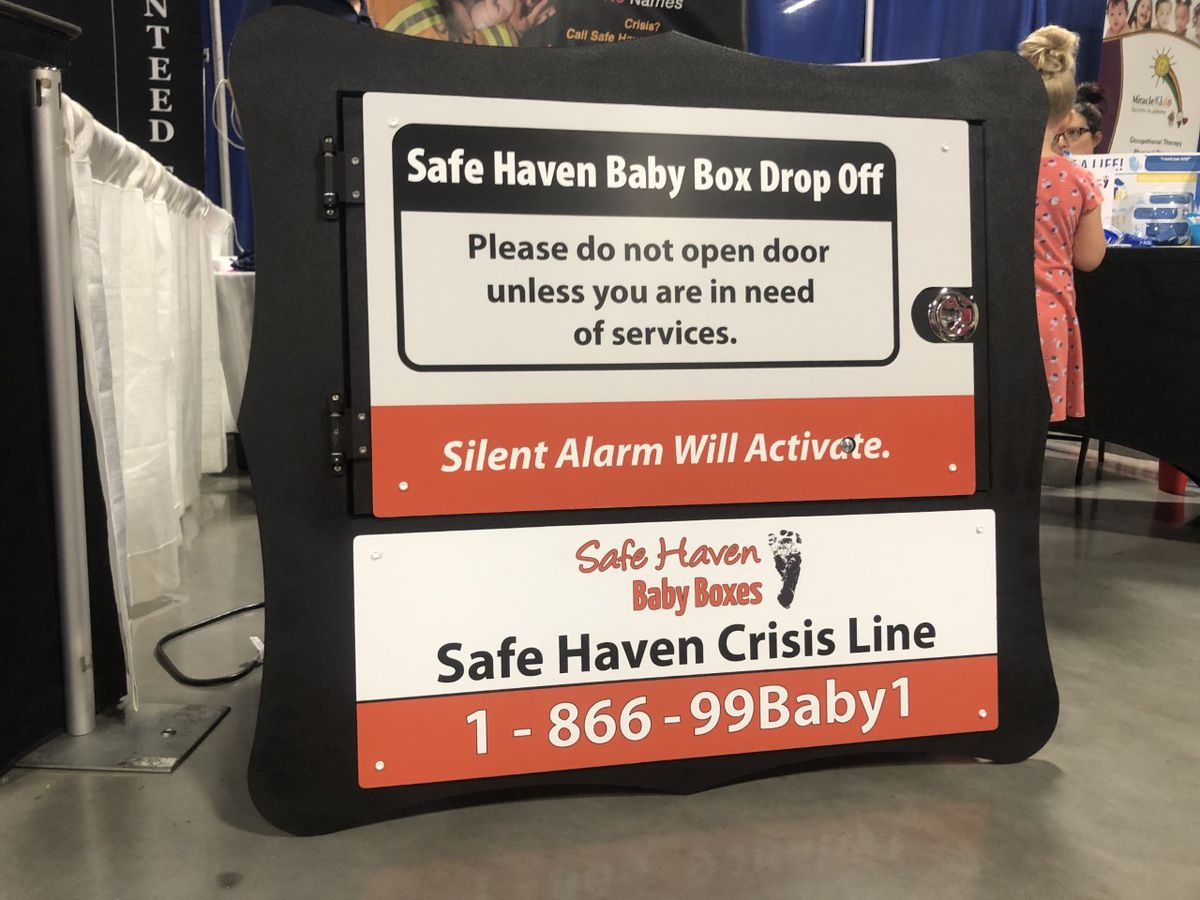 Safe Haven Baby Boxes being discussed for Region 8
