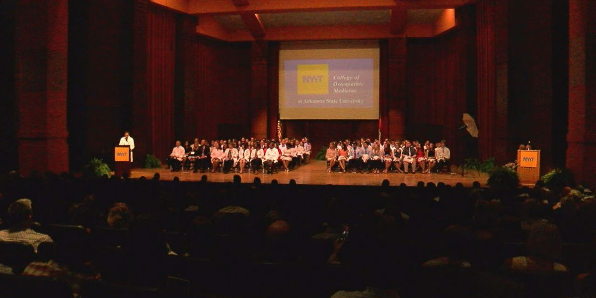 Over 120 students begin their medical career, with white coat ceremony