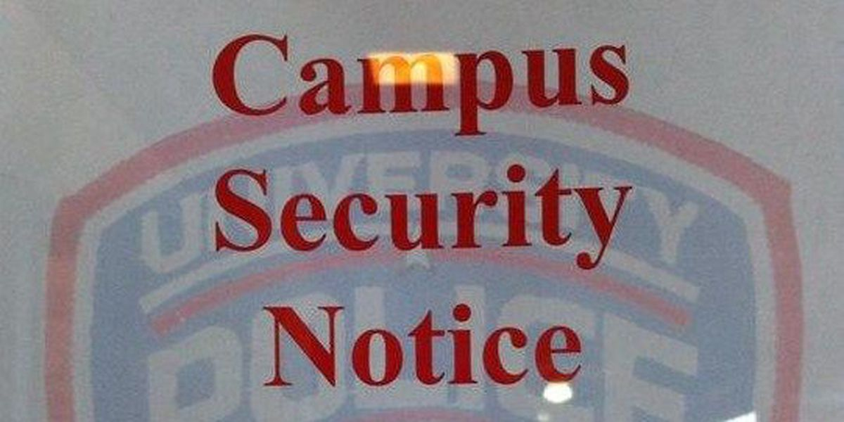 University police officers warn students after alleged rape