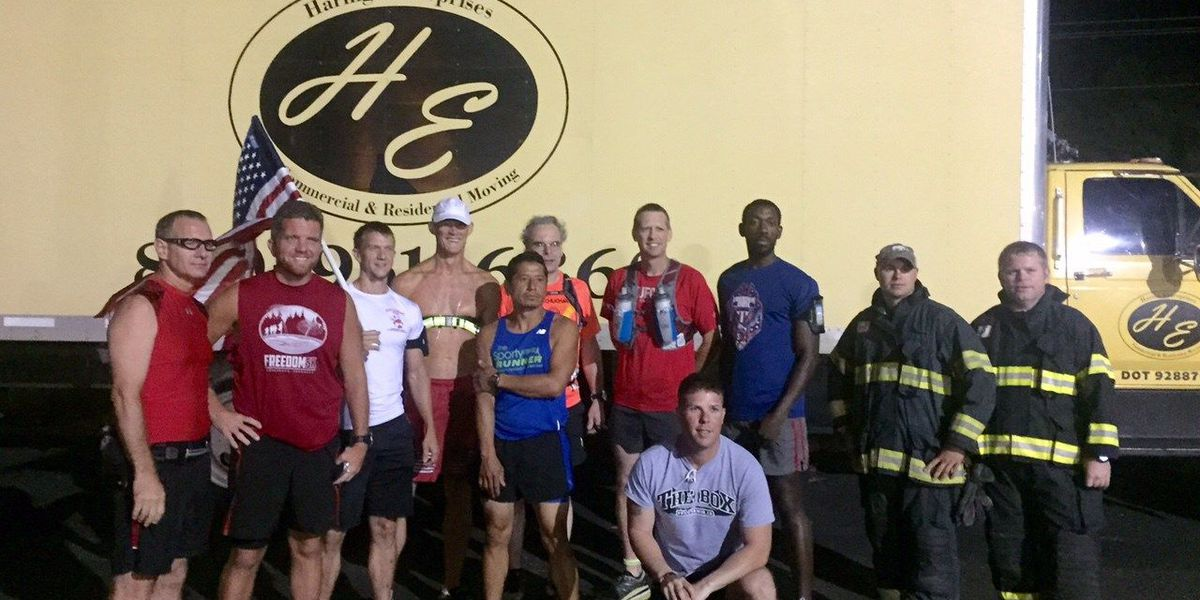 Group runs 9.11 miles to honor 9/11 victims and veterans