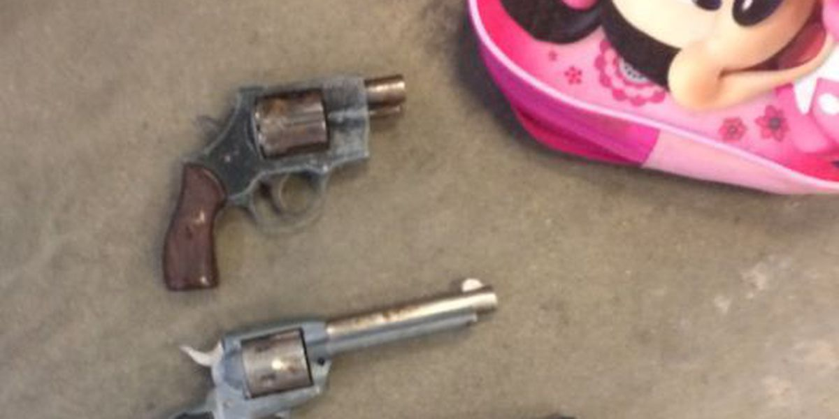 Police: 3 guns found in child's backpack