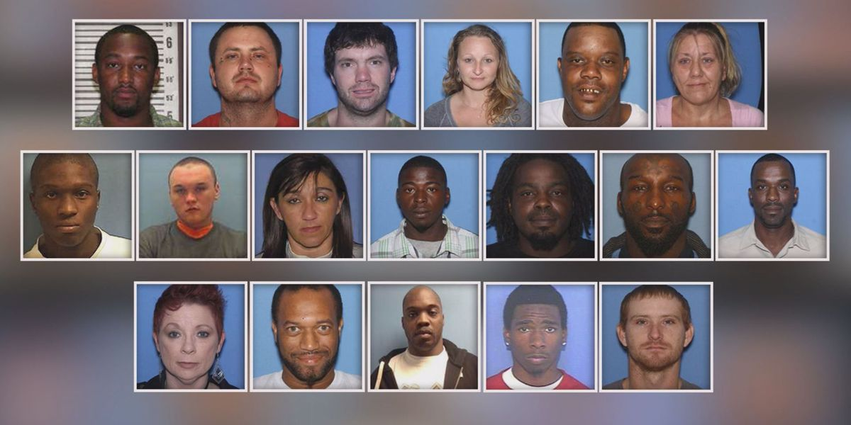 At 10: nearly 2 dozen Arkansas drug arrests and JPD searches for more officers