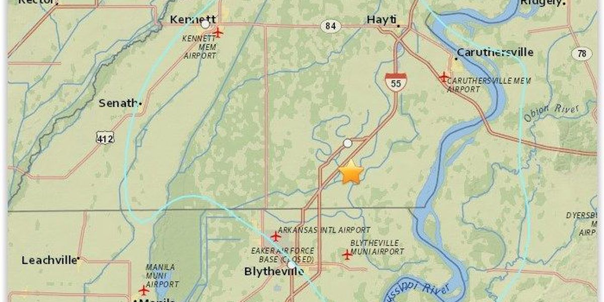 USGS: Quake in southeast MO now 3.6 magnitude