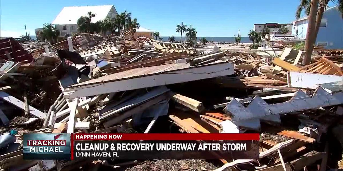 Cleanup and recovery underway in FL Panhandle