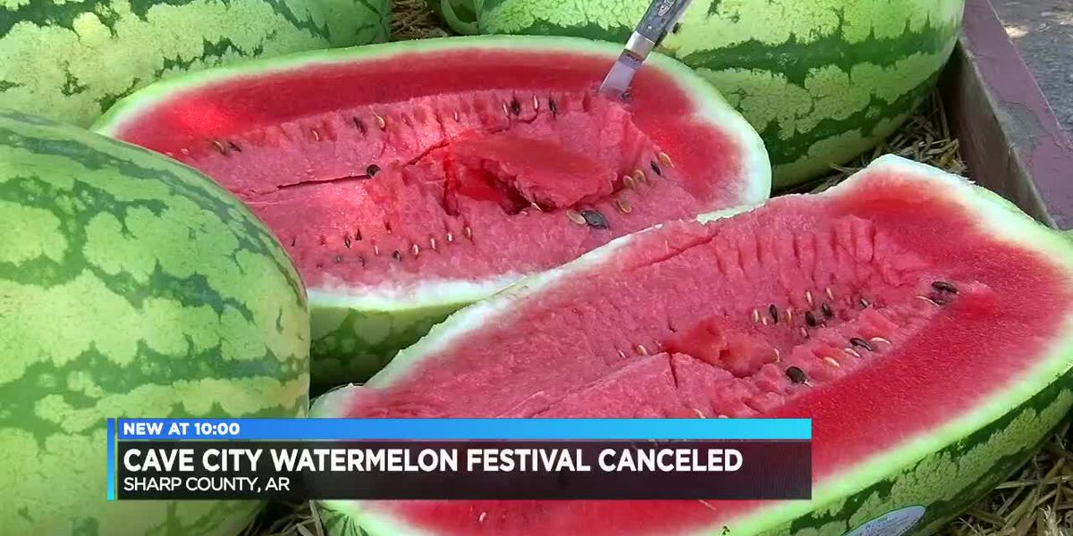 Cave City Watermelon Festival canceled due to pandemic