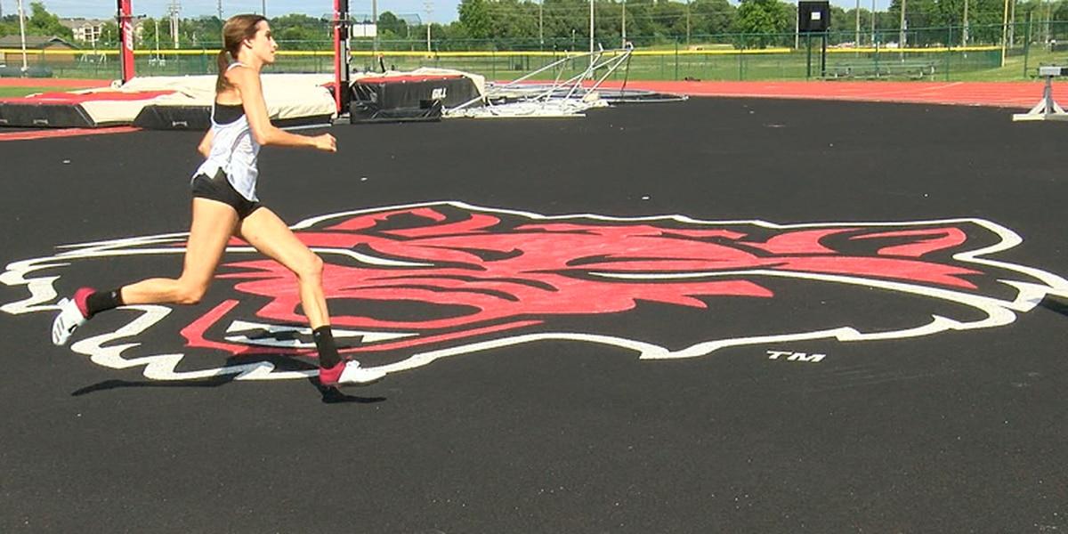 Countdown to California: A-State freshman Sydney Lane prepares for NCAA West Prelims