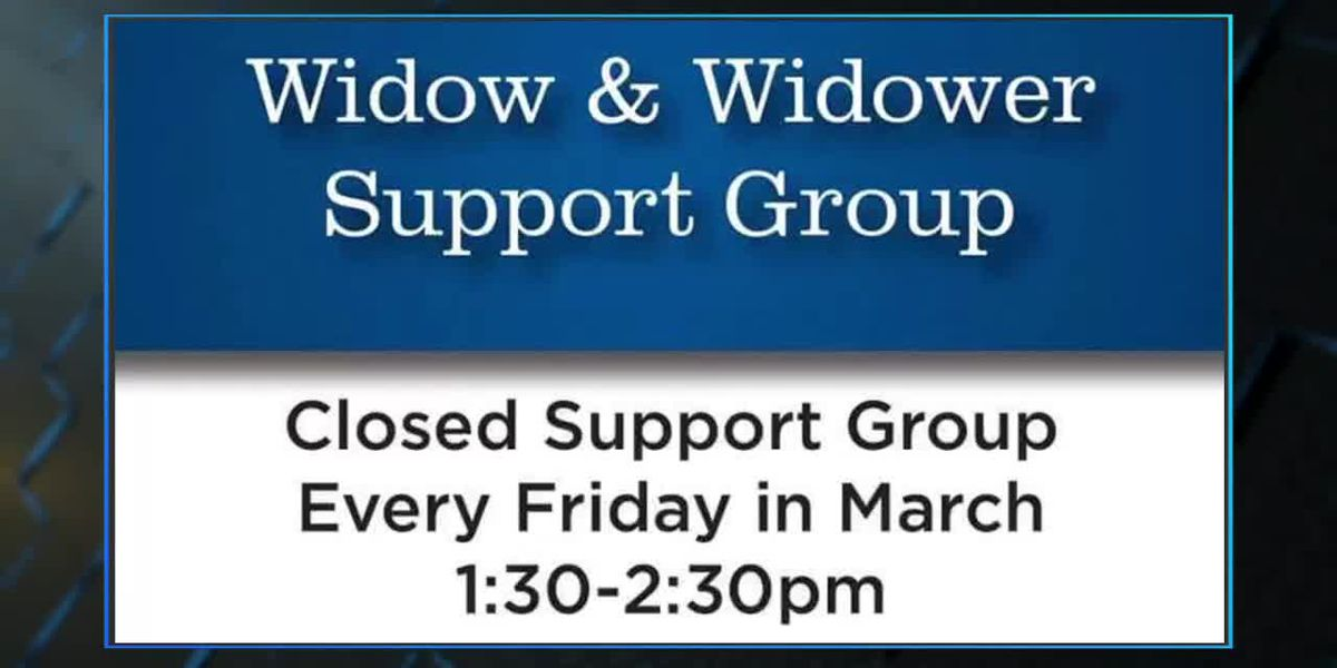 Friday Midday Widow/Widower Support Group 2-14-20