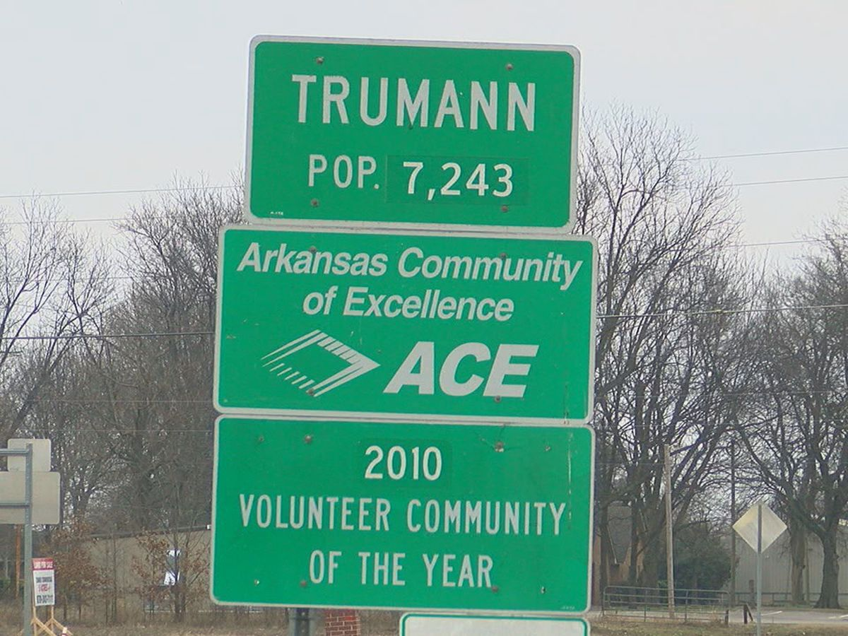City of Trumann is showing positive growth