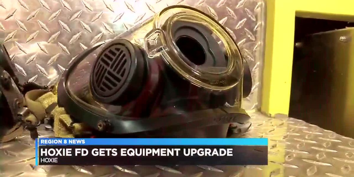 Hoxie Fire Department gets new masks for SCBA units