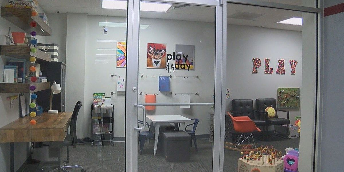 Junior Auxiliary designs playroom at courthouse for kids