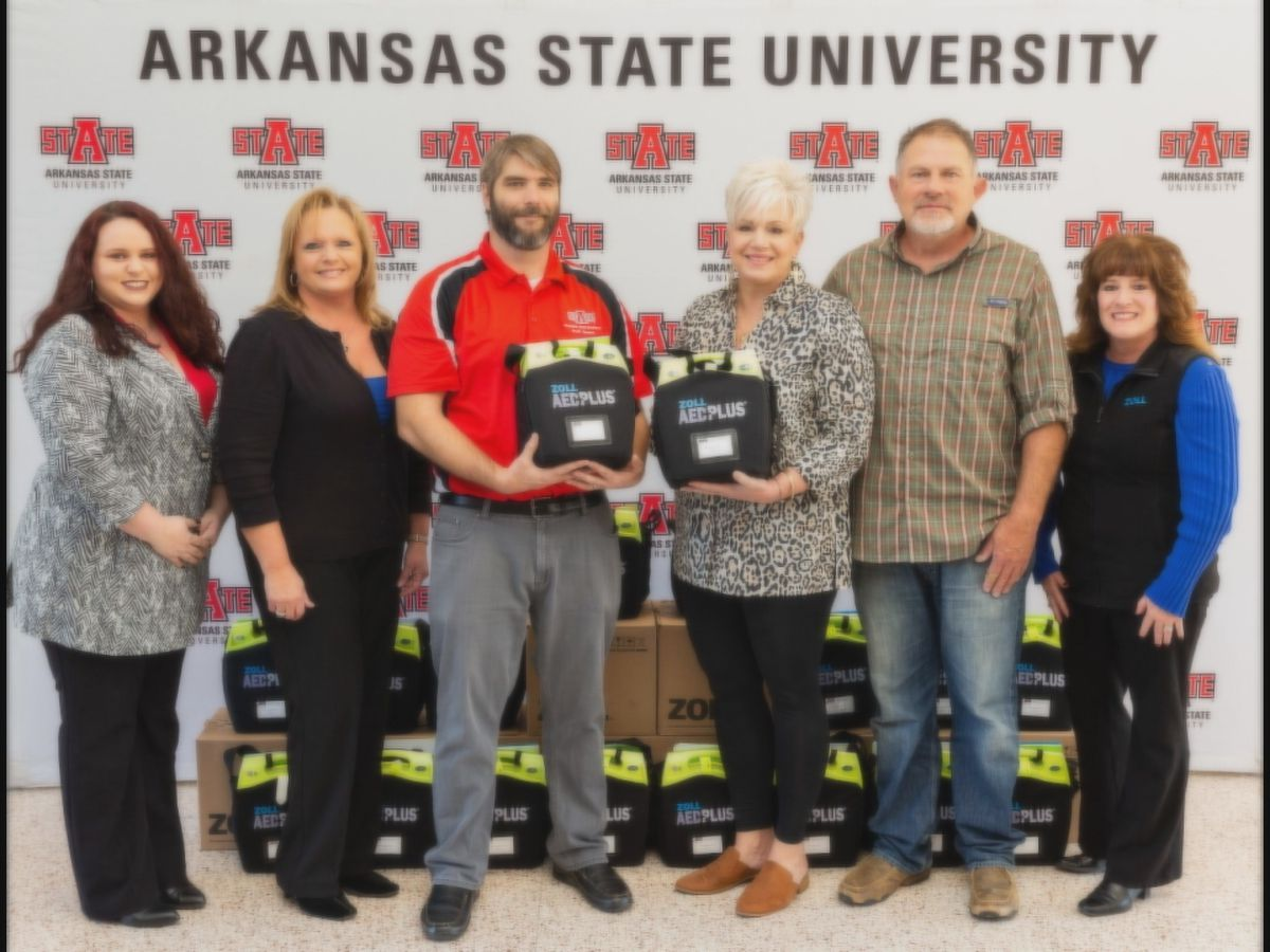 New AED's donated to Arkansas State University