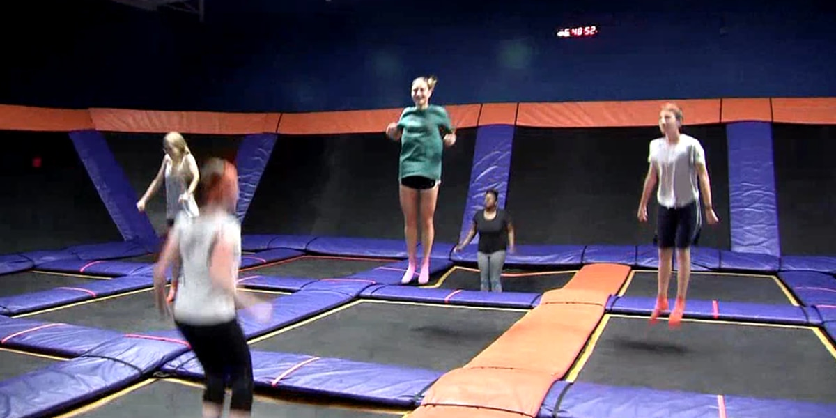 Trampolines take exercise to new heights