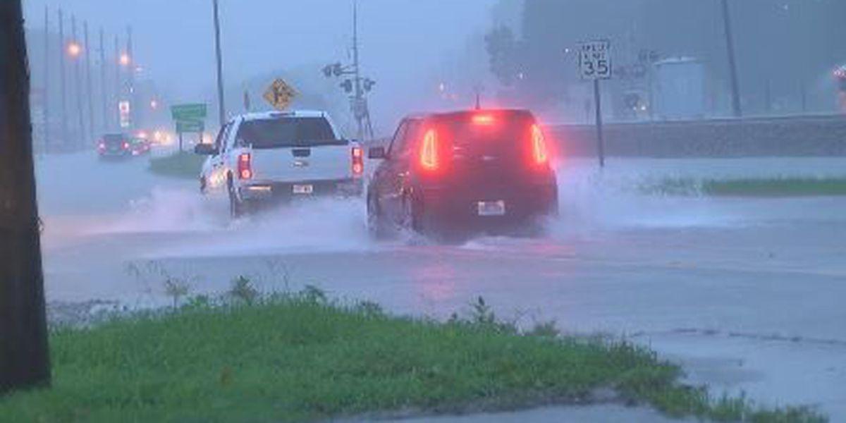 Heavy rains cause flooding issues around Region 8