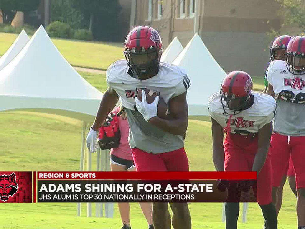 Jonathan Adams faring well on Arkansas State perimeter