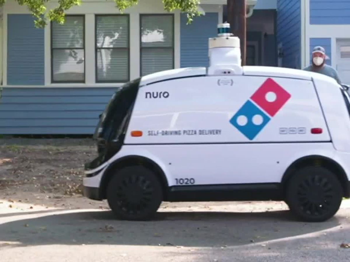 Domino's tests pizza delivery via robot