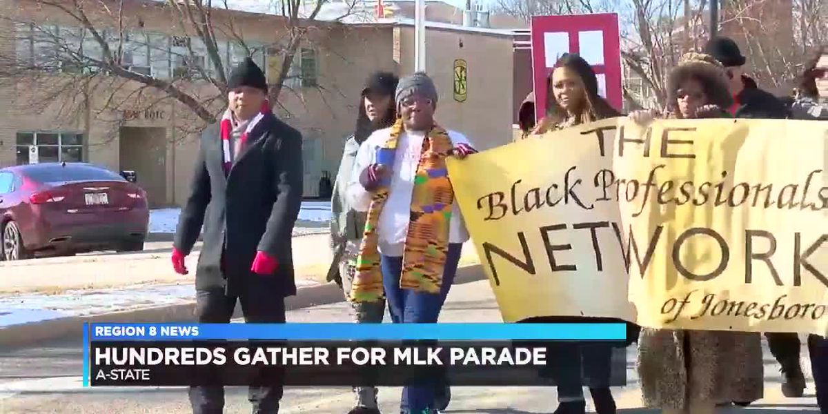 17th Annual Dr. Martin Luther King Jr. Parade in Jonesboro