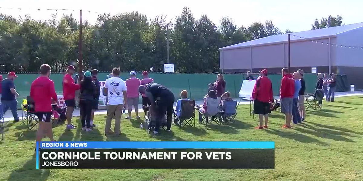 Cornhole tournament for Vets