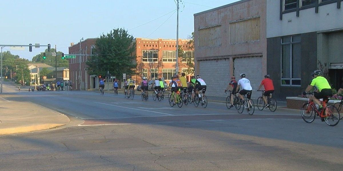 St. Bernards bikes for cancer patients