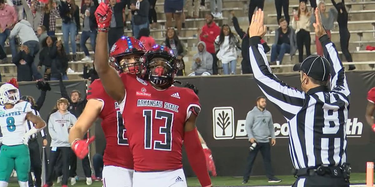 Arkansas State WR Kirk Merritt agrees to undrafted free agent deal with the Miami Dolphins