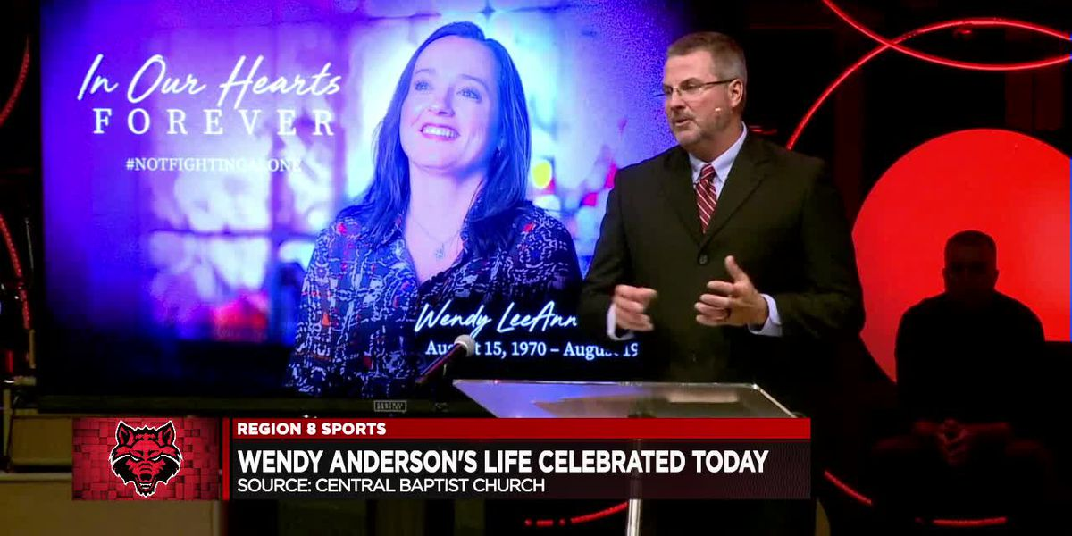 Wendy Anderson's life celebrated Friday morning at Central Baptist Church