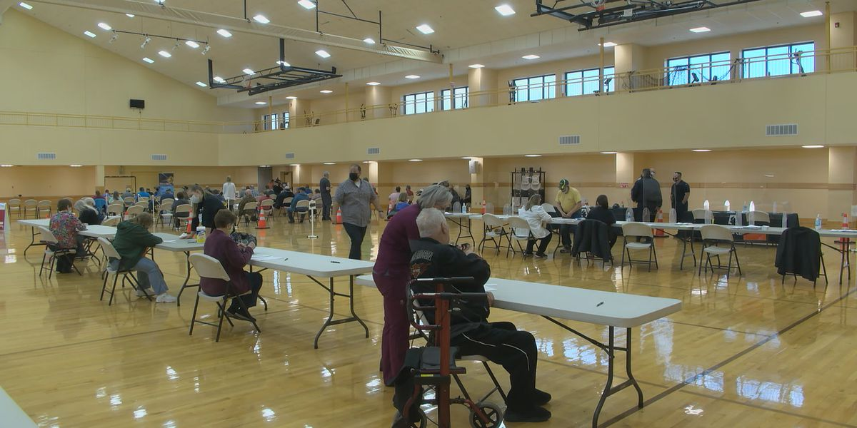 Paragould vaccinates 500 at mass vaccination clinic