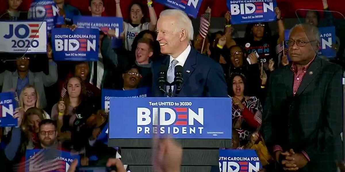 Biden wins Arkansas Democratic presidential primary