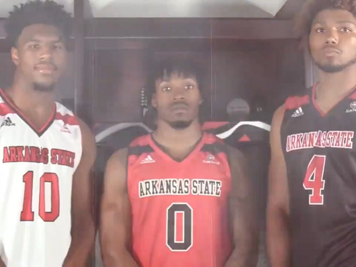 Arkansas State men's basketball reveals new uniforms