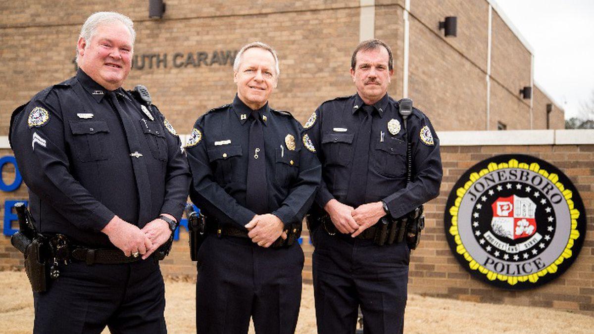 3 Jonesboro police officers retiring
