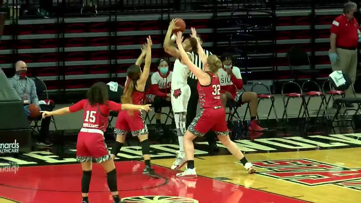Martin & Stinson combine for 52 pts, A-State women beat SIU Edwardsville