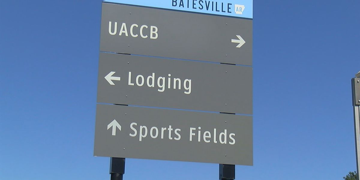Wayfinding signs to help visitors