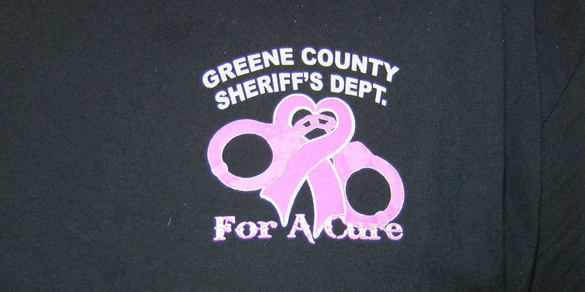 Sheriff's department dresses in pink for breast cancer awareness